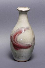 Glenn Decherd Ceramic dolphin vase