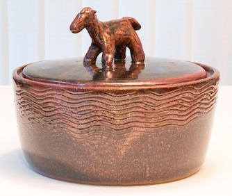 Glenn Decherd Ceramic Pony Bowl