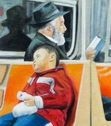 Jan Katz Acrylic Painting