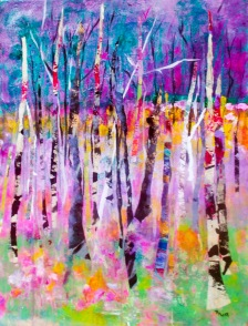 Rosalyn Kliot Tree Painting