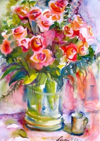Leslie Elder Painting