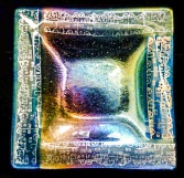 Diane Moeglein Fused Glass Plate
