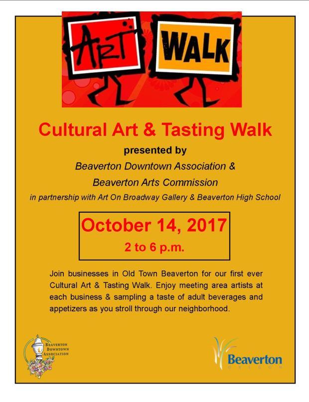 cultural art tasting walk poster design (2)