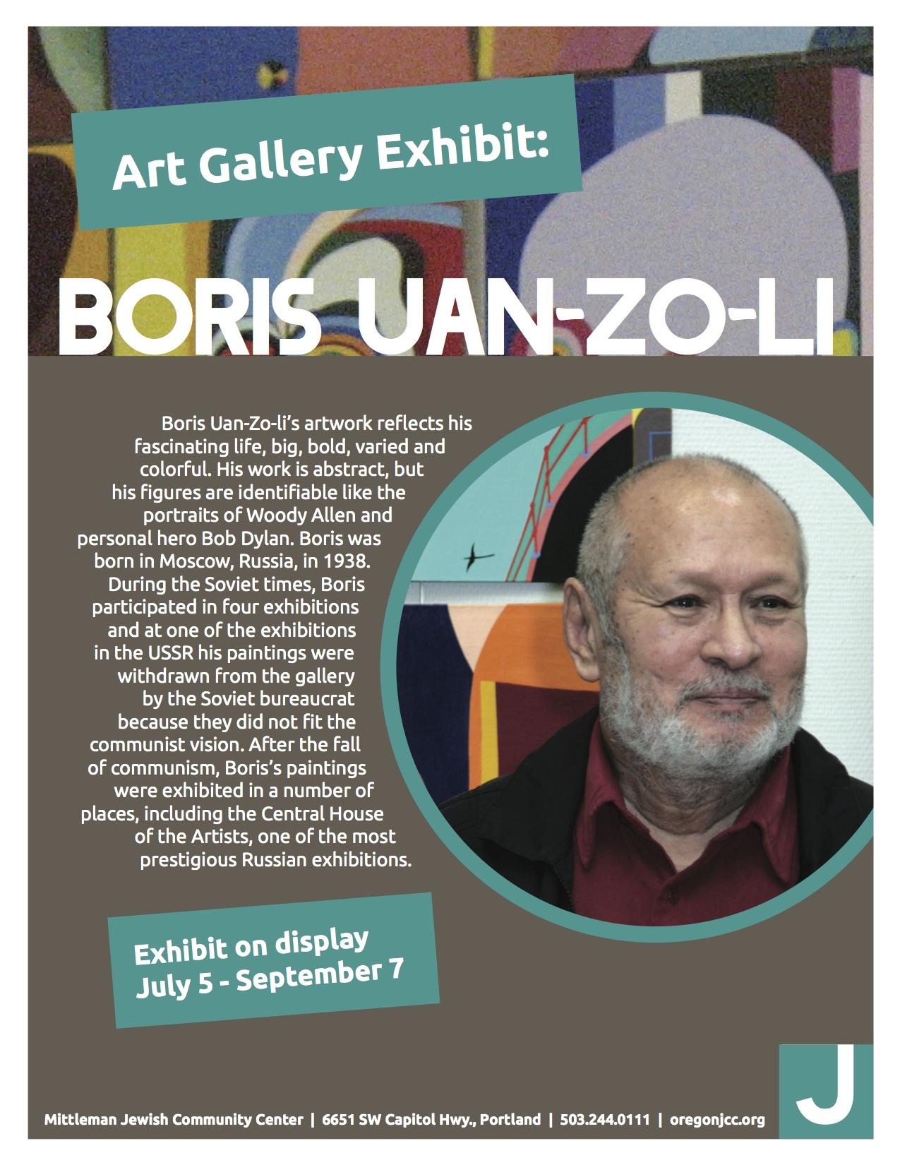 Boris Art Exhibit_Flyer