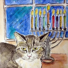 Tamar Hammer cat
